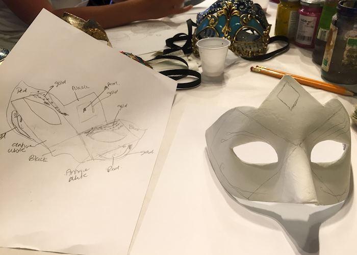 Mask making draft