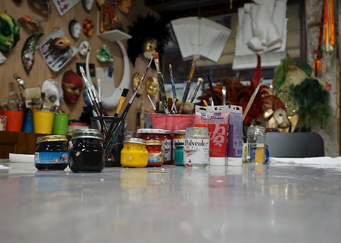 Mask making studio