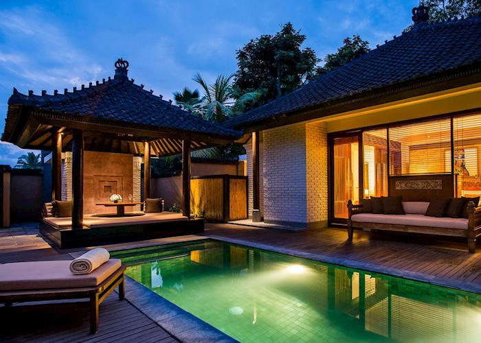 One bedroom pool villa private pool, Chedi Club Tanah Gajah