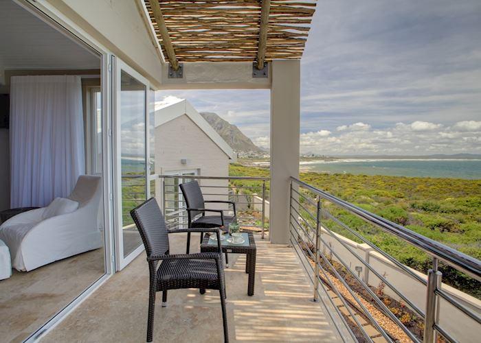 Sea facing suite, Abalone Guest Lodge, Hermanus