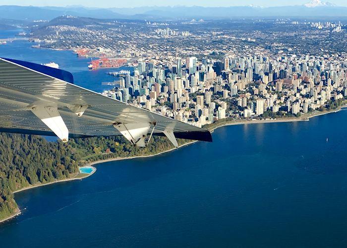 Floatplane over Vancouver
