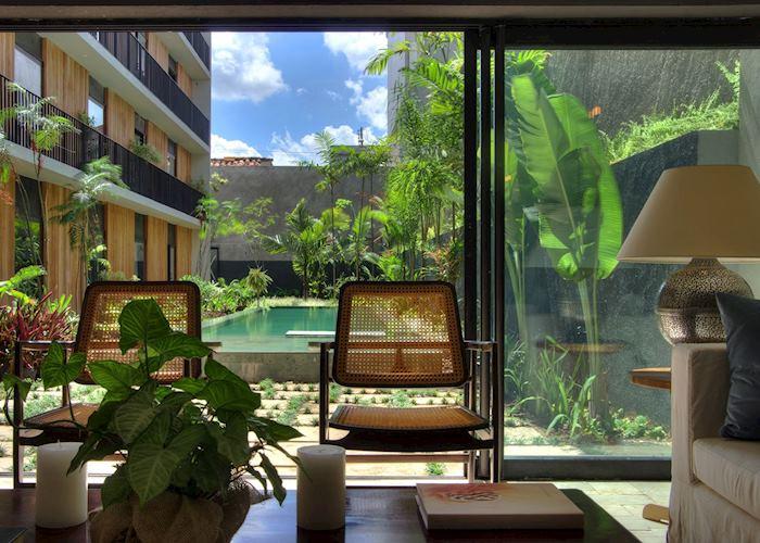 Lounge, Villa Amazonia, Manaus