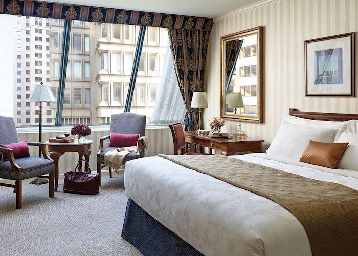 Langham Boston deluxe room
