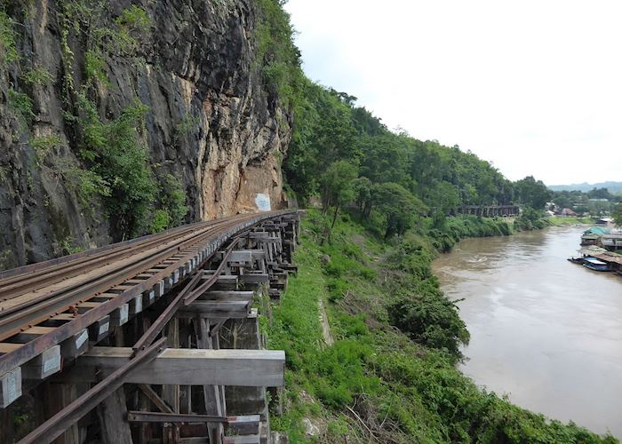 Section of the Death Railway, Kanchanaburi