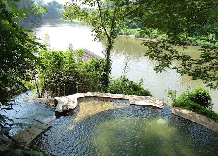 Natural Spring Pool, Hintok River Camp