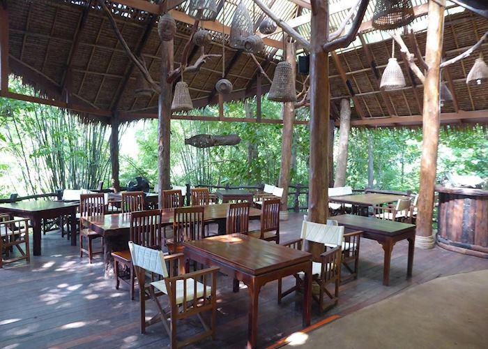 Dining area, Hintok River Camp