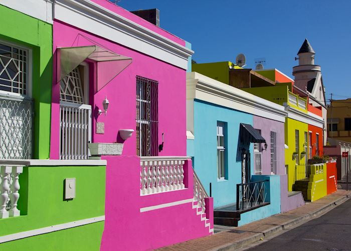 Residential streets of Bo Kaap, Cape Town