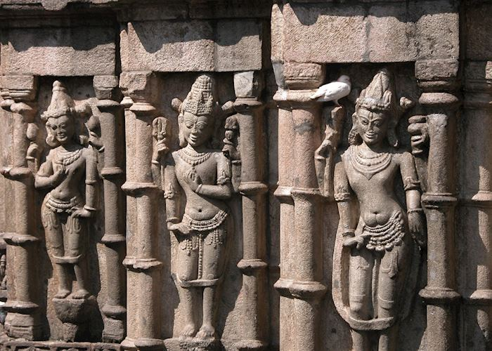 Temple carvings, Guwahati.