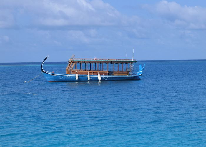 Dhoni, the Maldives