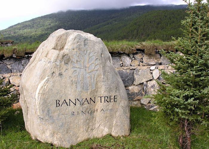 Banyan Tree Ringha entrance