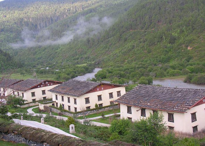 Riverside Tibetan suite, Banyan Tree Ringha