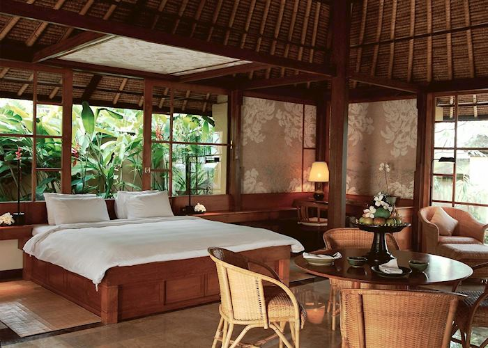 Bedroom at the Amandari, Ubud
