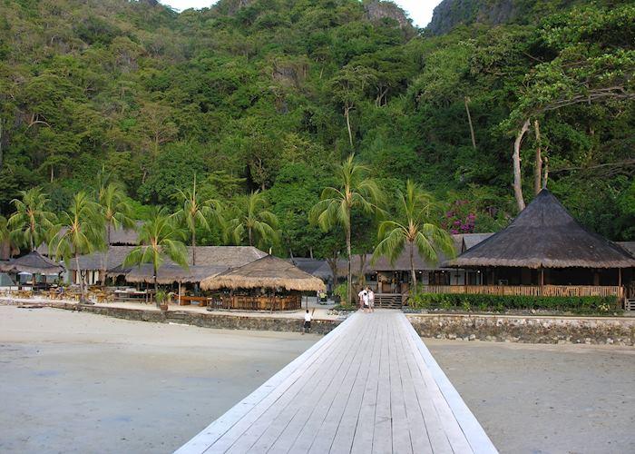 View from the jetty, El Nido Miniloc Island Resort, El Nido