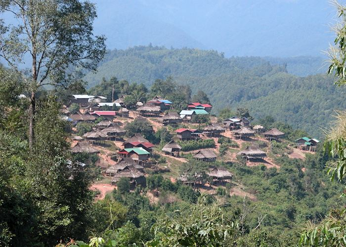 The Akha village of Ban Nam Yang