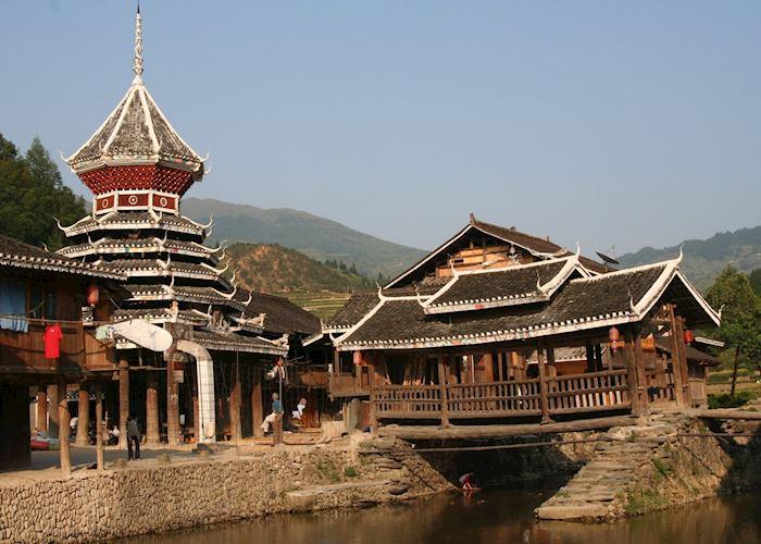 Zhaoxing village scene