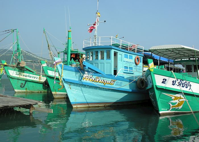 Fishing boats, Koh Chang, Thailand