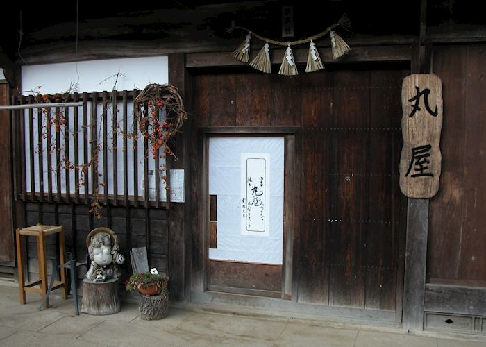 Traditional house on the Nakasendo Highway