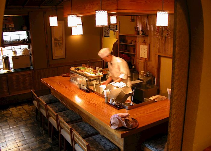 Tempura Restaurant, Yoshikawa Ryokan.