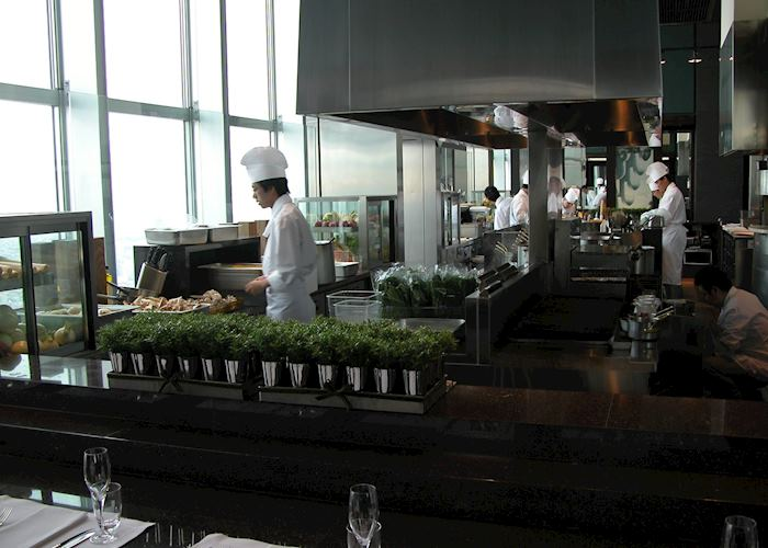 New York Grill kitchen, Park Hyatt