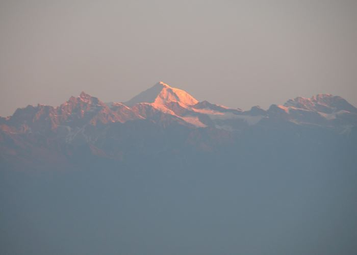 Sunrise over Himalaya from Nagarkot