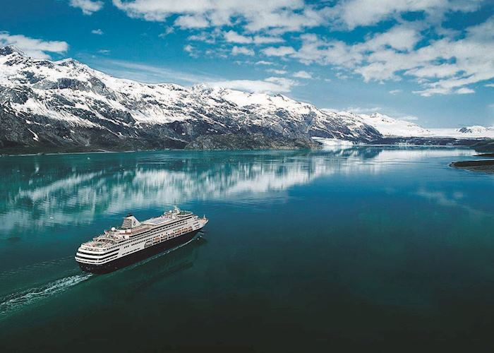 Cruise ship in the Inside Passage
