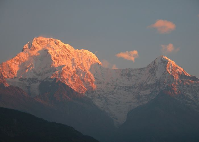 Sunrise from Gurung Lodge, Annapurna, Nepal