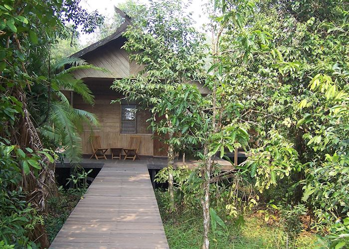 Emerald room, Rimba Lodge, Tanjung Puting