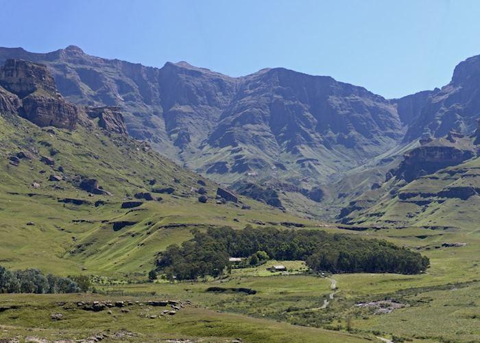 The KwaZulu-Natal, Drakensberg Mountains