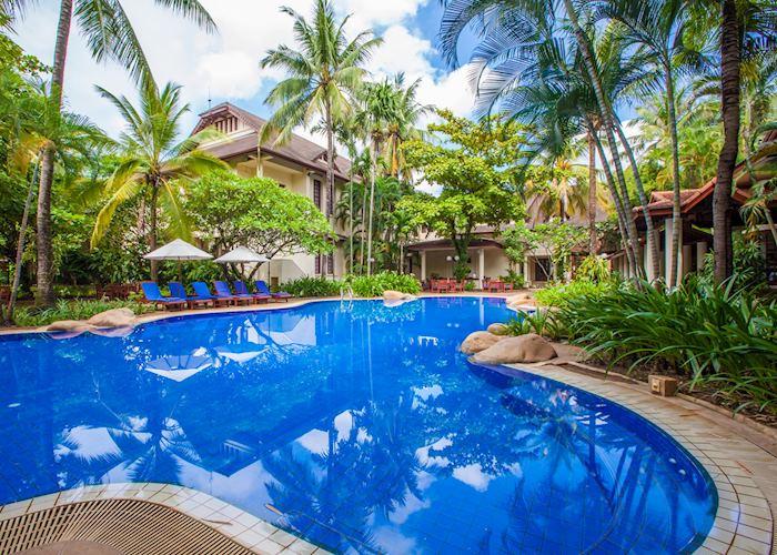 Pool at Settha Palace, Vientiane
