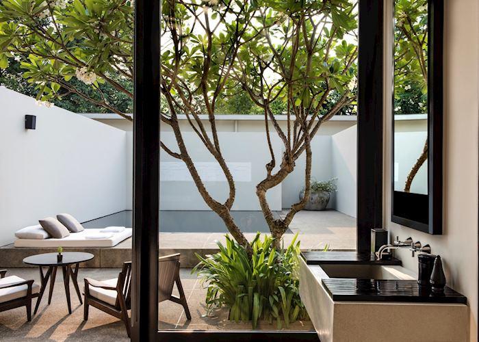 Pool suite, Amansara