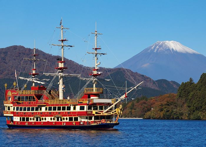 Pirate ship on Lake Ashi, Hakone