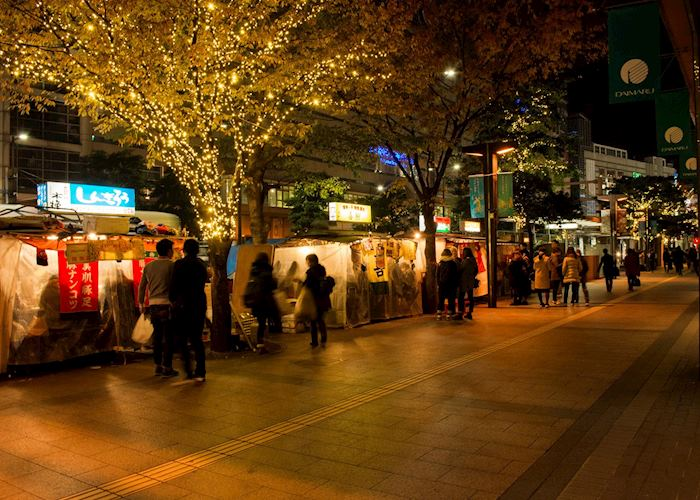 'Yatai' or Street stall of Fukuoka, Fukuoka