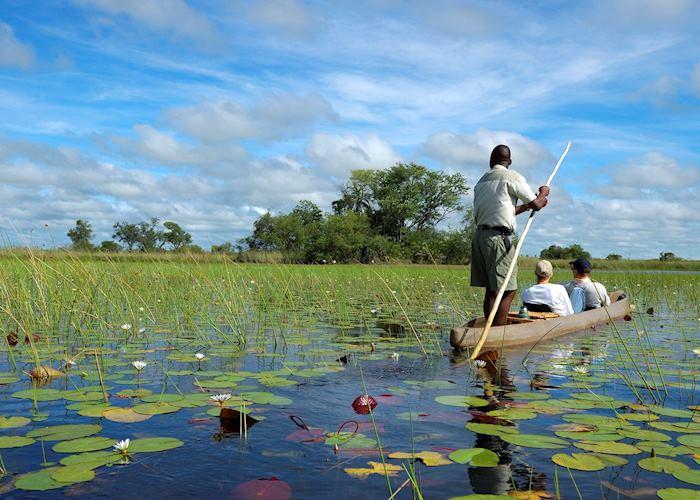 Mokoro excursion on the Delta