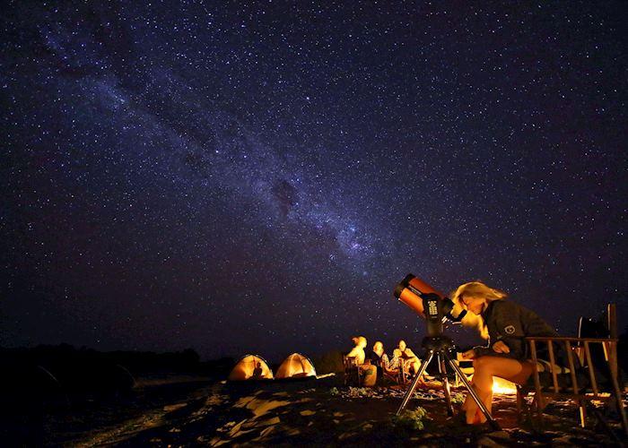 Stargazing from Kichaka Camp