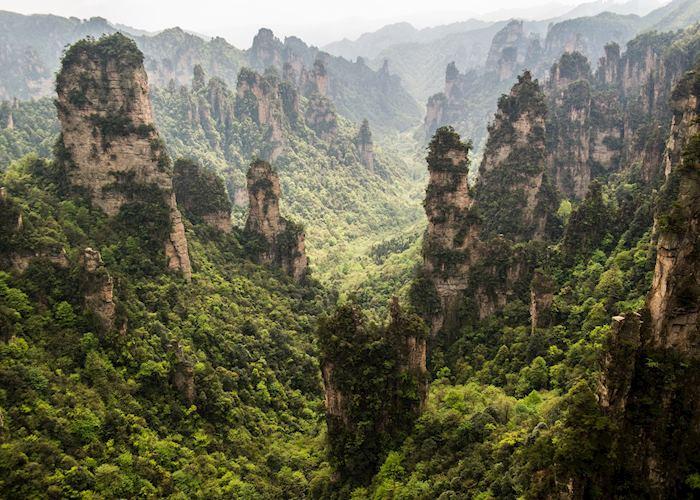 Zhangjiajie scenic area, Zhangjiajie