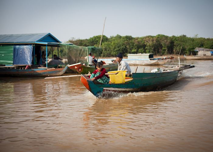 Tonle Sap boaters