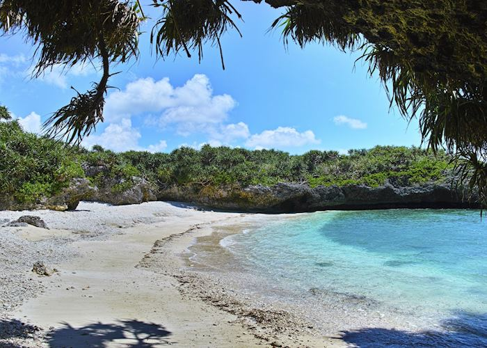 Miyakojima Island on the Okinawan archipelago