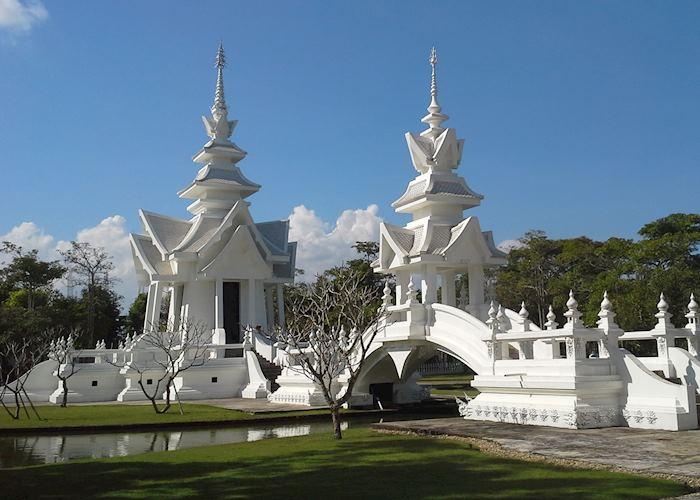 White Temple grounds, Chiang Rai