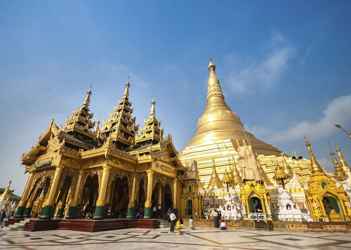 The Shwedagon Pagoda, Yangon (Rangoon)