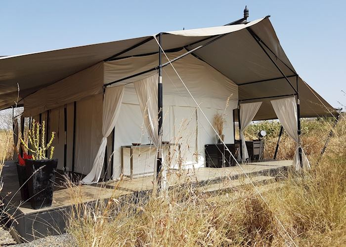 Tent at Jawai Leopard Camp