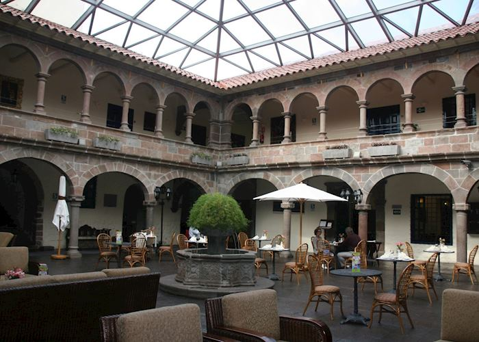 Colonial courtyard of the Novotel Casa Real, Cuzco
