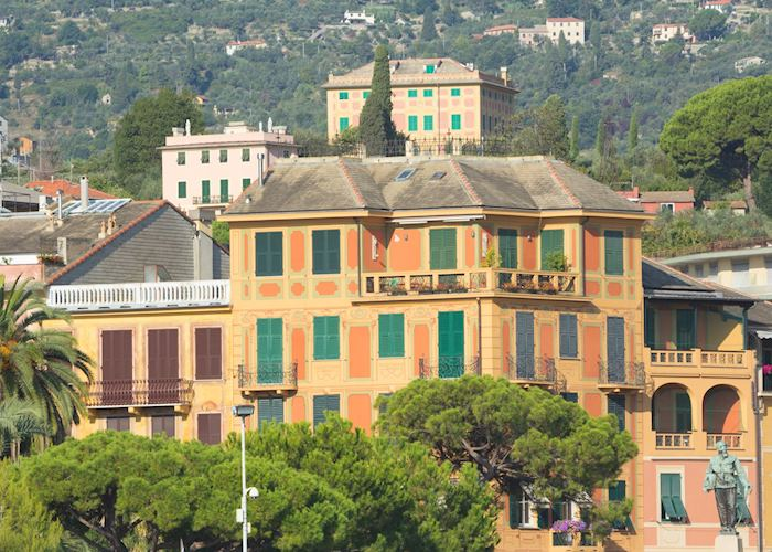 Pastel-hued buildings, Santa Margherita Ligure