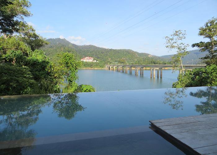 Swimming pool at Belum Rainforest Resort