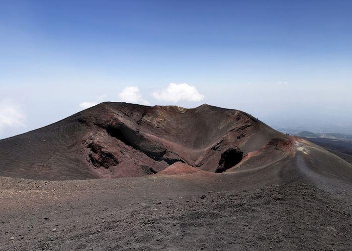 Summit crater, Mount Etna
