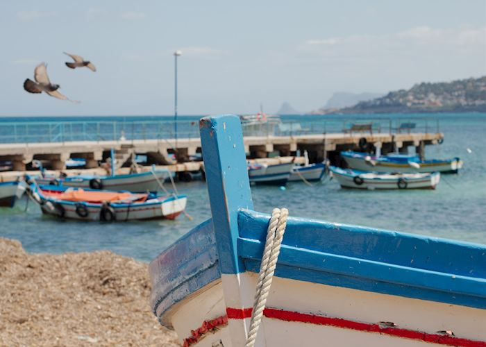 Mondello Beach, Palermo