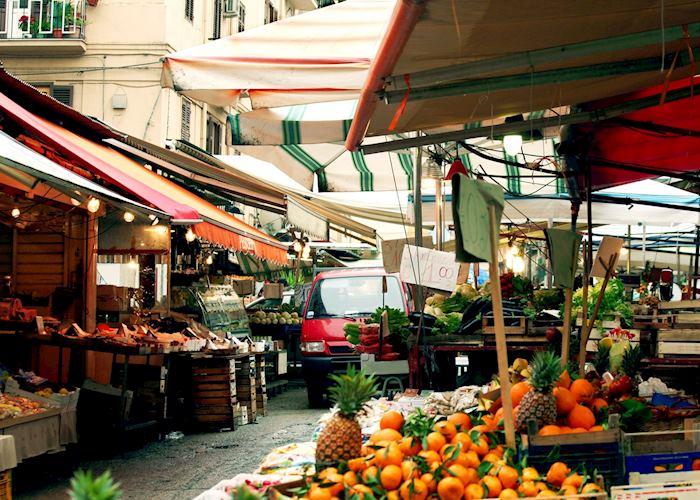 Street market, Palermo