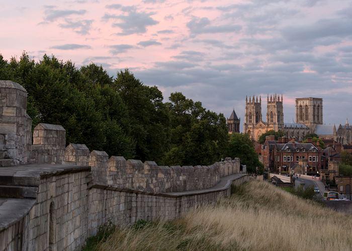 Ancient walls of York