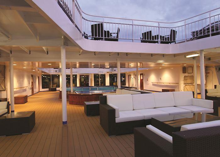 Ocean Endeavour's Deck