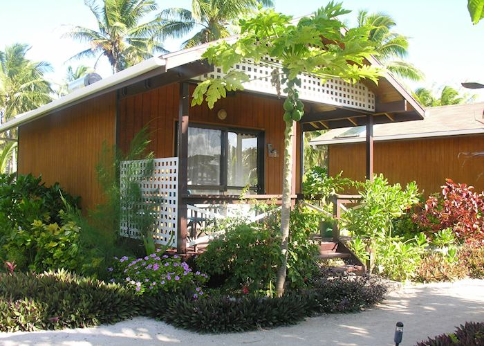 Bungalow, Samade on the Beach, Aitutaki