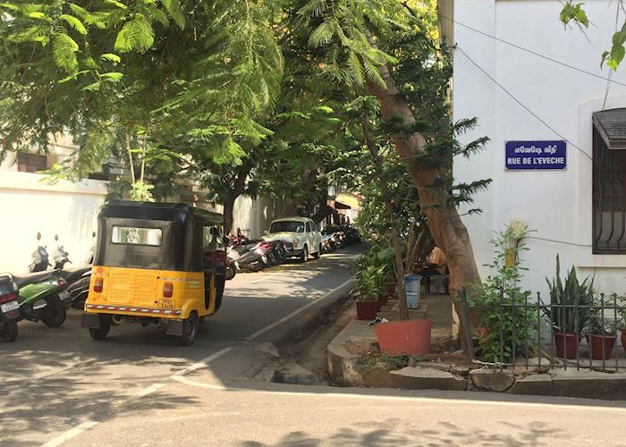 French colony of Pondicherry